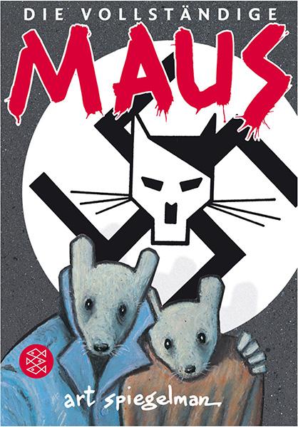 """Cover des Buches """"Die vollständige Maus"""" von Art Spiegelman"""