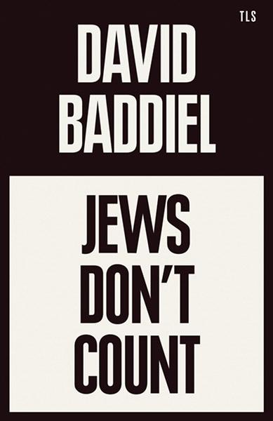 """Cover des Buches """"Jews Don't Count"""" von David Baddiel"""